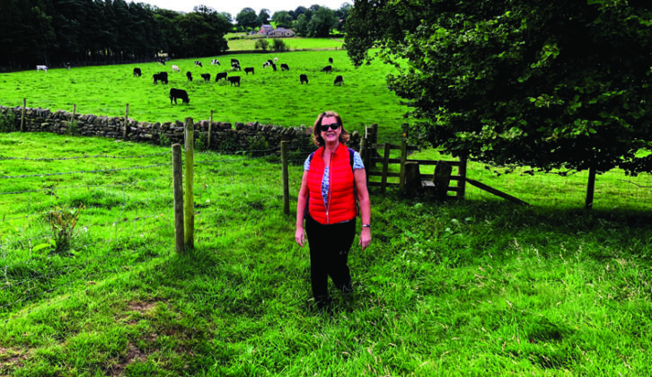Based at West Leas Farm CL, there's a great choice of walking routes to explore