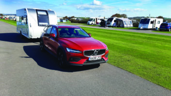 Volvo V60's planted feel and raft of safety kit inspires confident driving