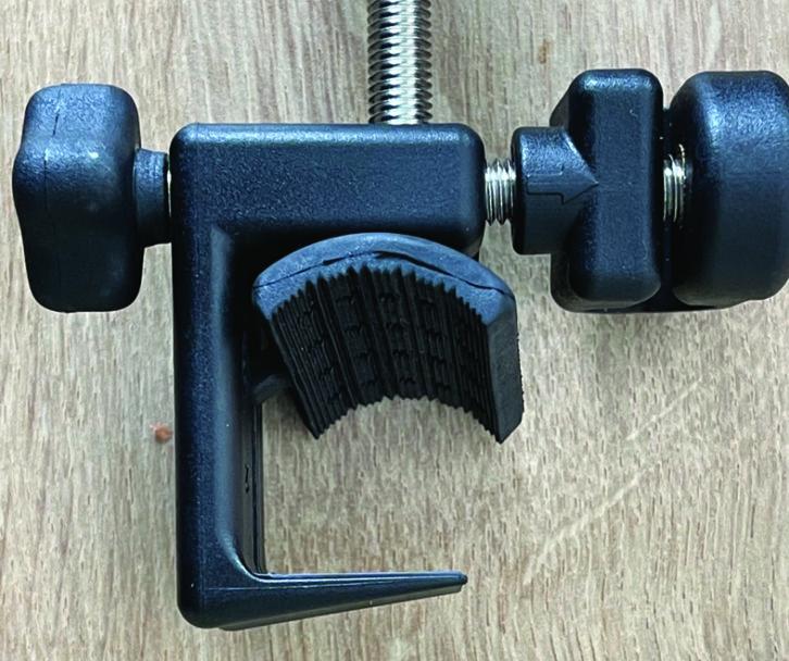 Flexible rubber grip on Grand Aero Platinum