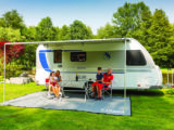 Fiamma wind-out canopy, perfect for Continental summers